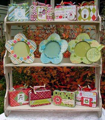 Craft Fair Cloth Doll Display
