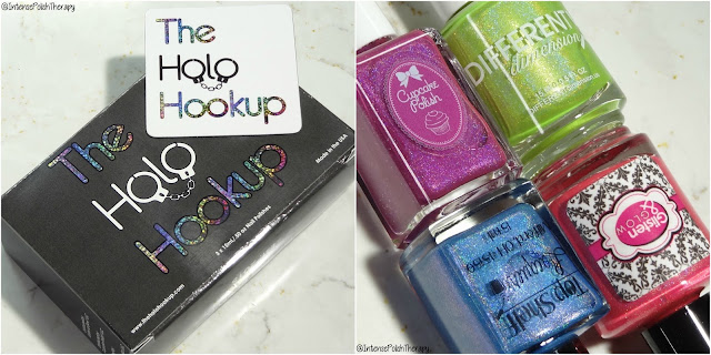 The Holo Hookup June 2018 | Cupcake Polish, Different Dimension, Glisten & Glow & Top Self Lacquer