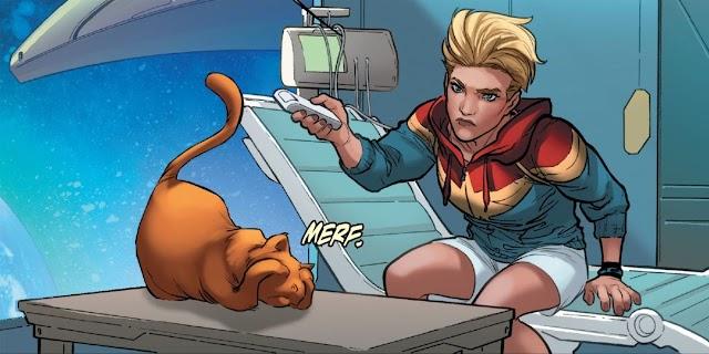 Chewie, Kucing Captain Marvel yang Berbahaya