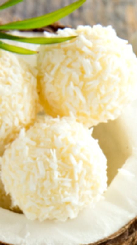 Lemon and Coconut Bliss Balls Recipe ~ Here is a fun healthy eating snack idea that is packed with heart healthy coconut and the goodness of almonds.