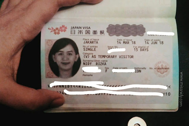 tips mudah mendapatkan visa jepang single entry