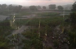 Cidade registra 306 mm de chuvas no mês de maio; Em um dia município registra mais de 150 mm