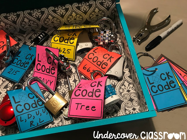 Don't get locked out of your locks! Use these lock code tags to keep your locks organized in between lockbox challenges.