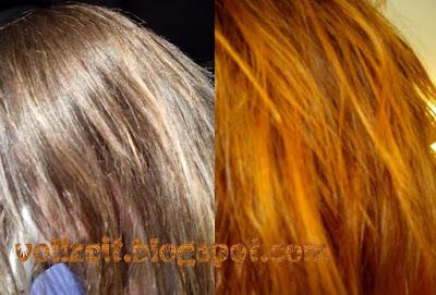 Haarfarbe Kupfer Test