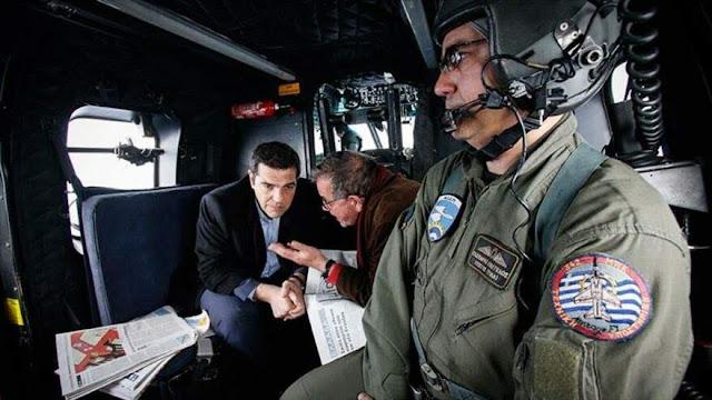 Aviación turca acosa helicóptero del primer ministro de Grecia