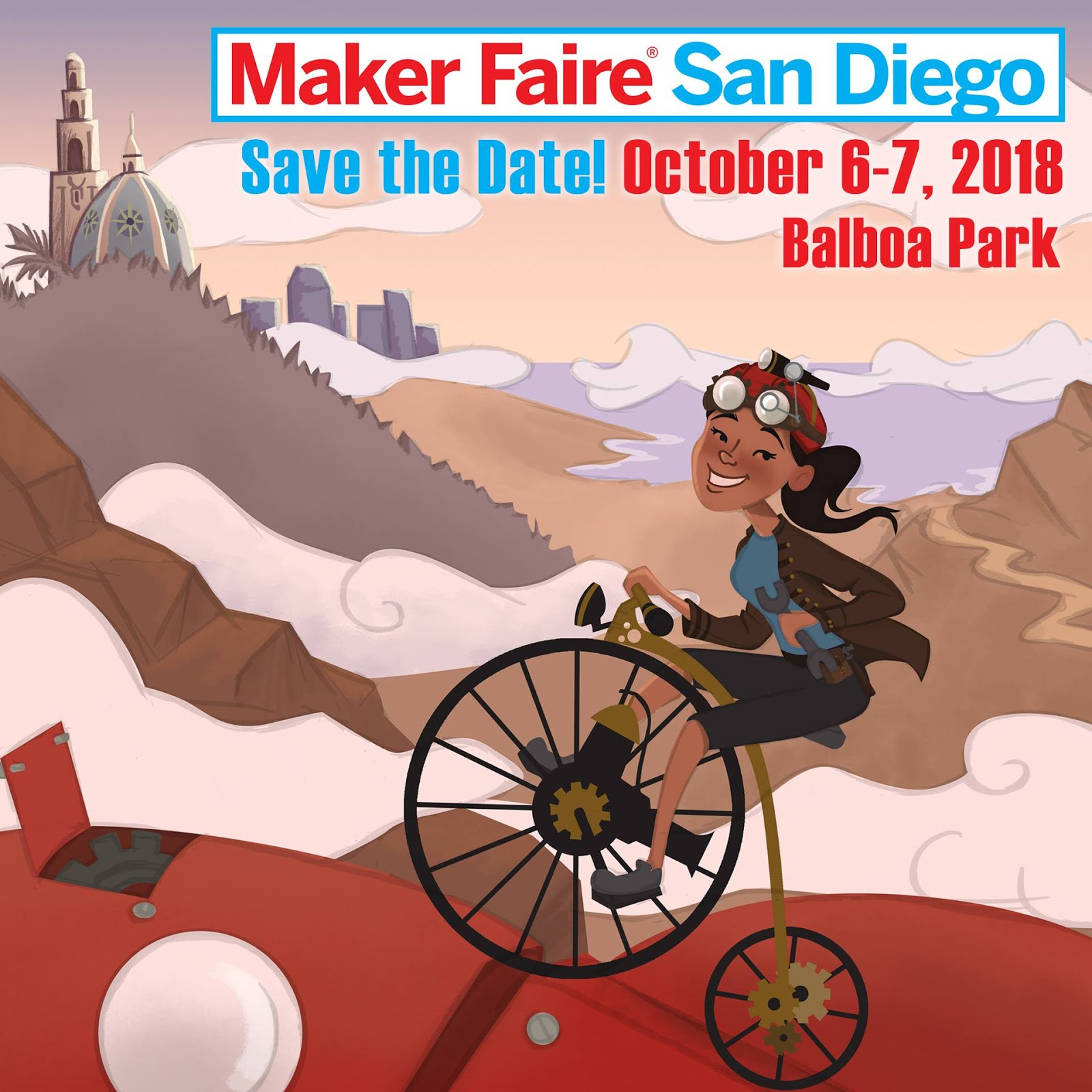 Don't Miss Maker Faire San Diego - October 6 & 7!