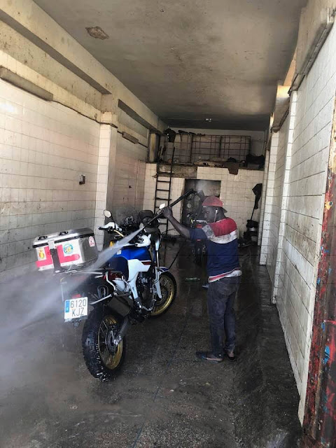 Road to Dakar con la Africa Twin