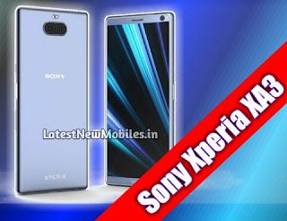 Sony Xperia XA3 Specifications