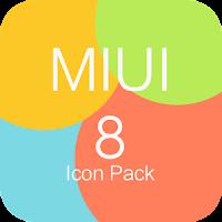 MIUI 8 Icon Pack Full Apk