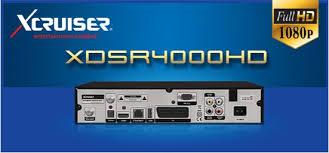 NOVA ATUALIZAÇÃO XCRUISER XDSR 4000 HDV2.3.45 - 11-02-2016