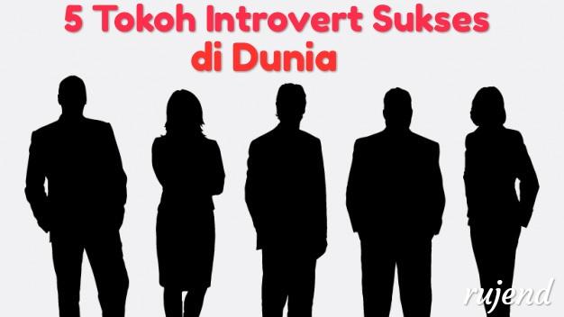 5 Tokoh Introvert Sukses di Dunia