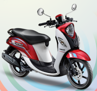 Yamaha Fino 125 Blue Core Sporty Merah