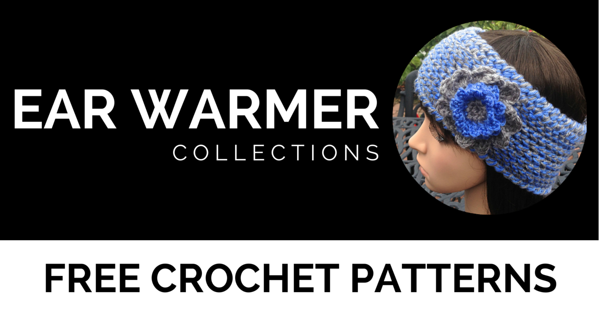 Ear Warmer Round Up | Free Crochet Patterns by I'm Hooked!