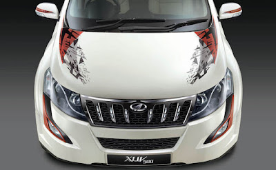 2017 Mahindra XUV500 Sportz Limited Edition front Look image