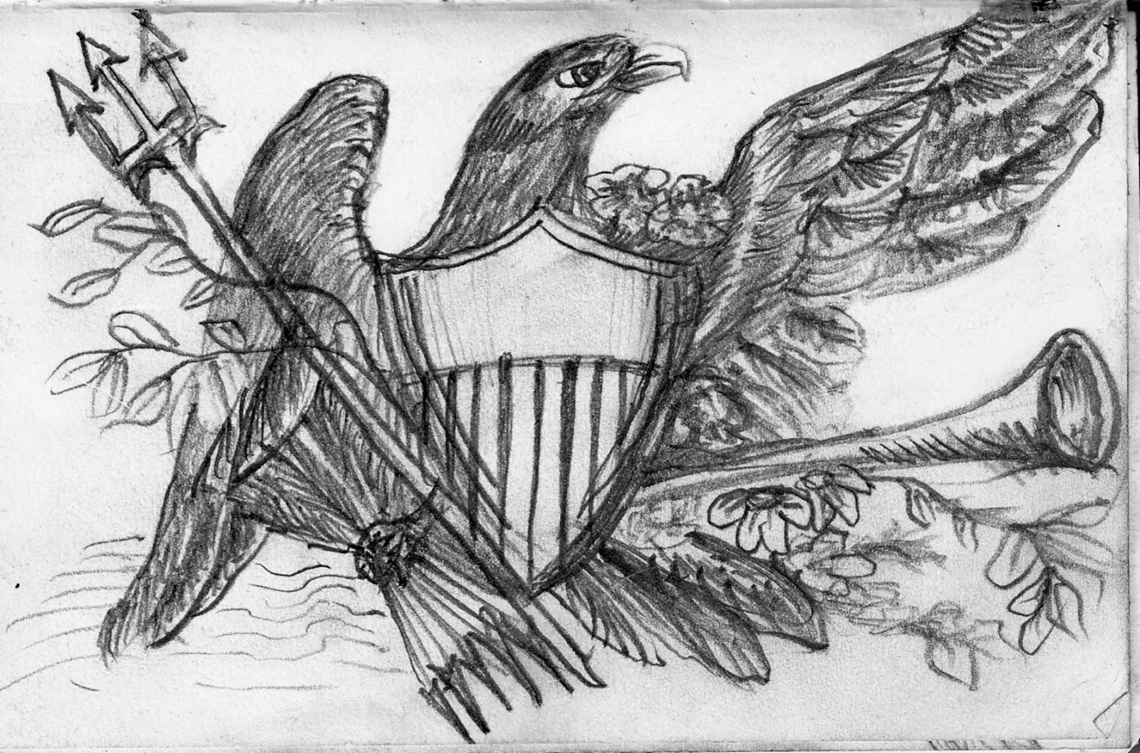 The Company 'Q' Dispatches: More Civil War Sketchin' Time