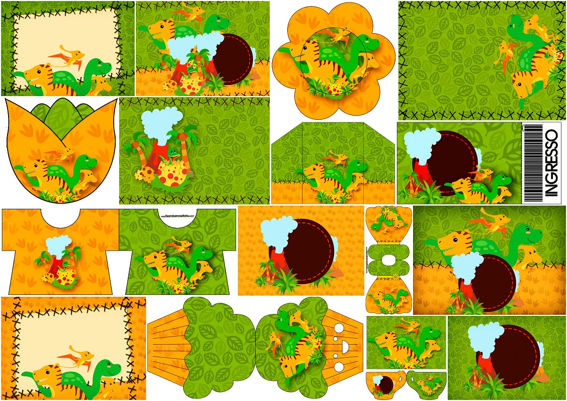 It is a graphic of Dinosaur Party Invitations Free Printable regarding adventure birthday party
