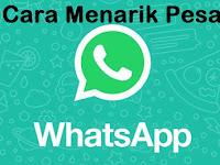 6 Cara Menarik Pesan di Whatsapp Yang Telah Terkirim ke Server