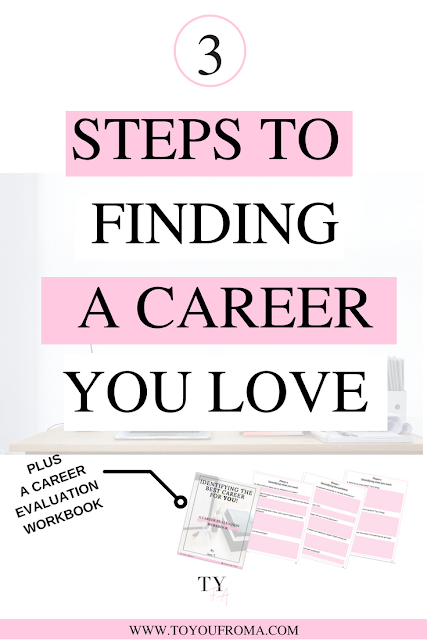 3 simple steps to finding a career you would love