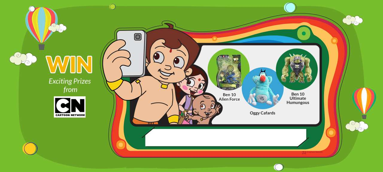 contest friends selfie win ben 10 alien force oggy cafards ben 10