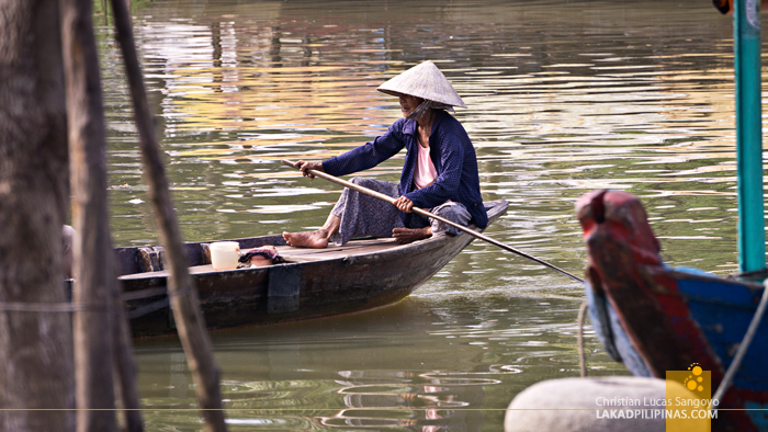 Hoi An Ancient Town Vietnam River Boat