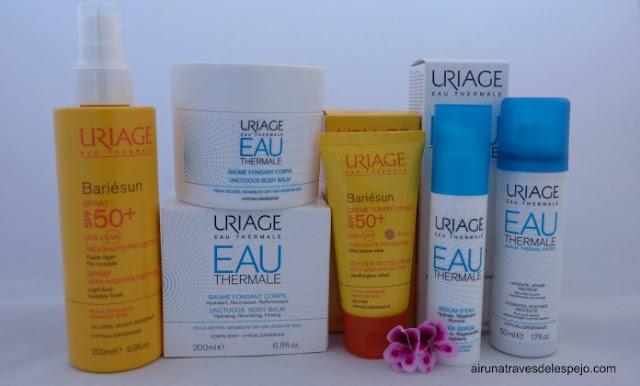 uriage proteccion solar cuidados faciales corporales