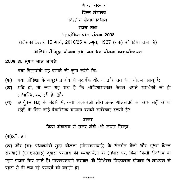 Unstarred+Rajyasabha+Question+2008