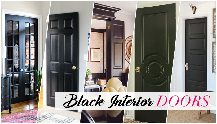 Why choosing to use black interior doors in your home can make your space feel brighter & Why I Chose Black Interior Doors for My New House - Monica Wants It