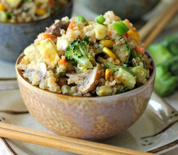 Salteado de Quinoa & Verduras
