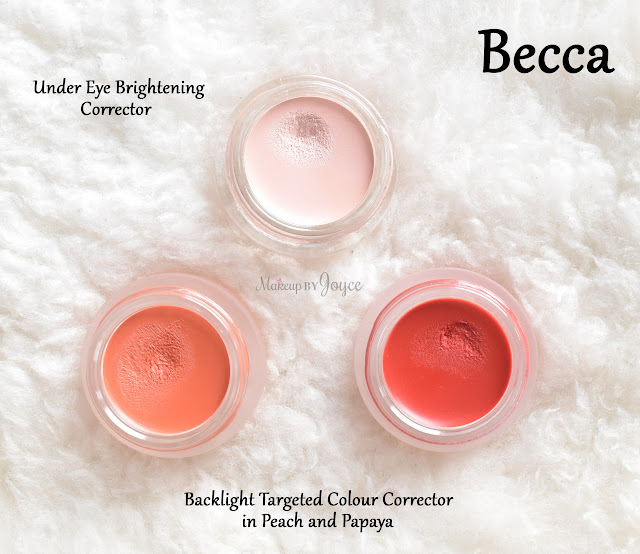 Becca Brightening Backlight Targeted Colour Corrector Peach Papaya Swatch