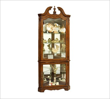 Corner Curio Cabinets | Corner China: Corner Curio ...