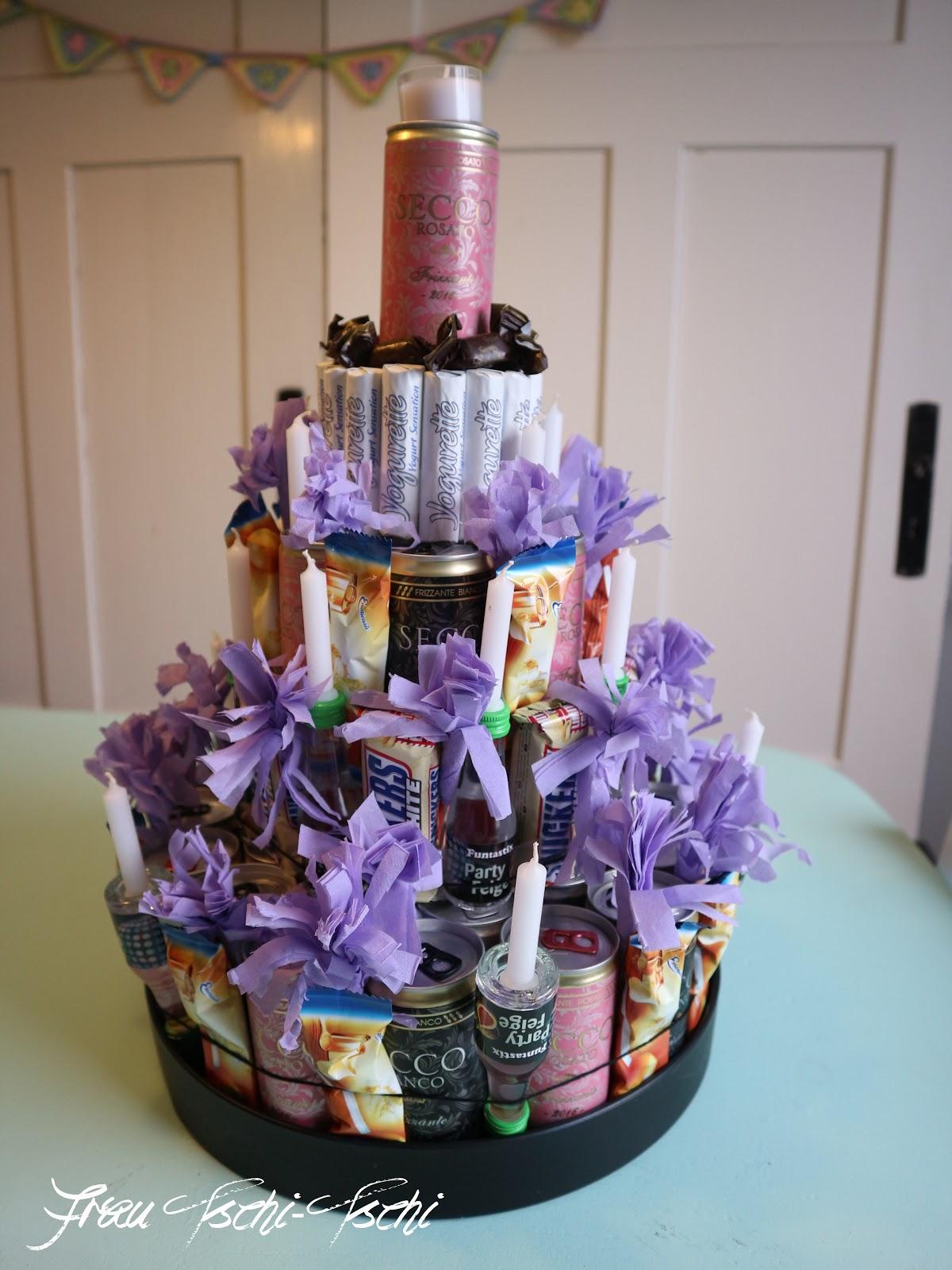 Frau Tschi-Tschi: XXL Prosecco - Torte zum 30. Geburtstag