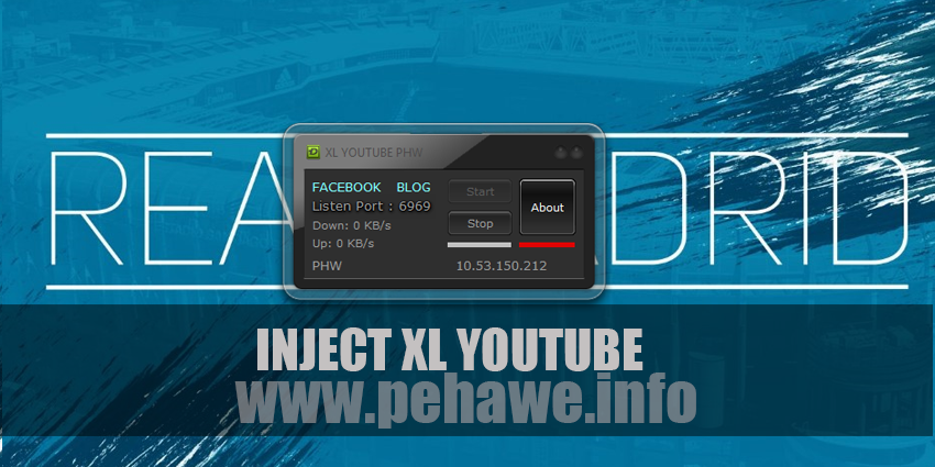 Inject XL Youtube Pehawe Terbaru 2017
