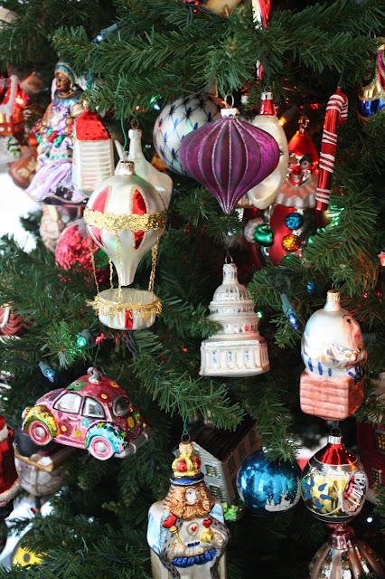Hot air balloon glass ornament and more at Racine Art Museum