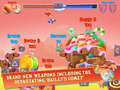 Worms 4 Mod Apk Data V1.0.4 - screenshot - 3