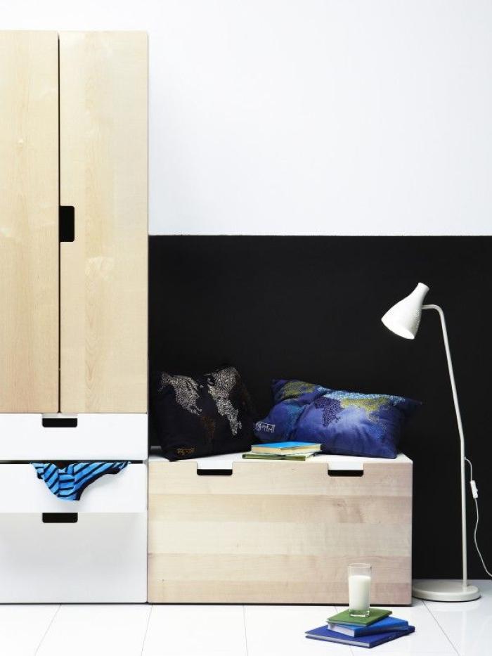 Tiny Box Room Ikea Stuva Loft Bed Making The Most Of: Rafa-kids : Storage For Kids From Ikea