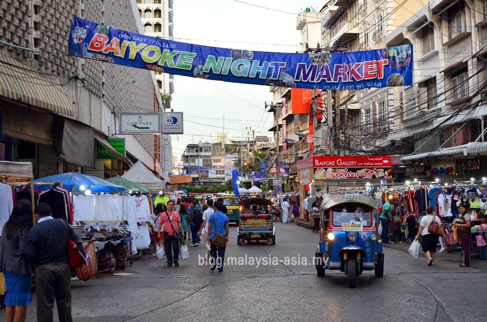 Baiyoke Night Market, Pratunam Bangkok