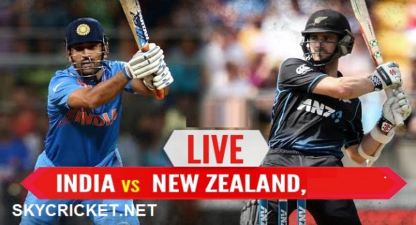 Ind v NZ ODI Series TV Channels