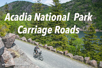 Biking the carriage roads--and more--in Acadia National Park, Maine