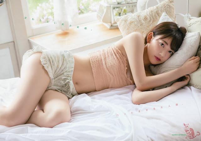 HKT48 Miyawaki Sakura Gravure YAM 007