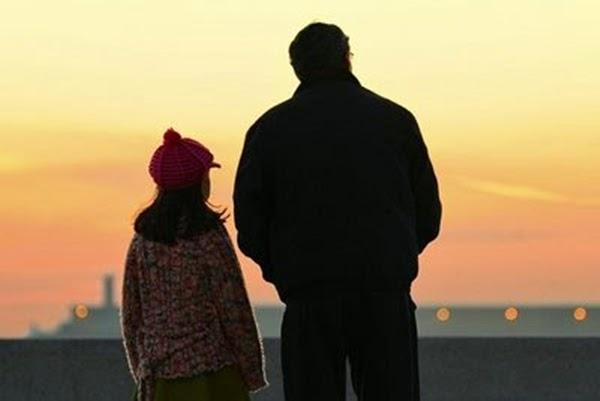 Filha e pai