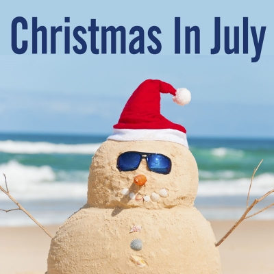 Christmas in July at the Brookfield Theatre for the Arts in Brookfield, Connecticut, U.S.A.