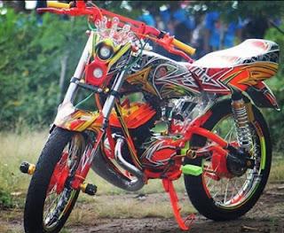 jual knalpot modifikasi Yamaha RX King