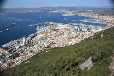 Algeciras Bay from the Rock of Gibraltar