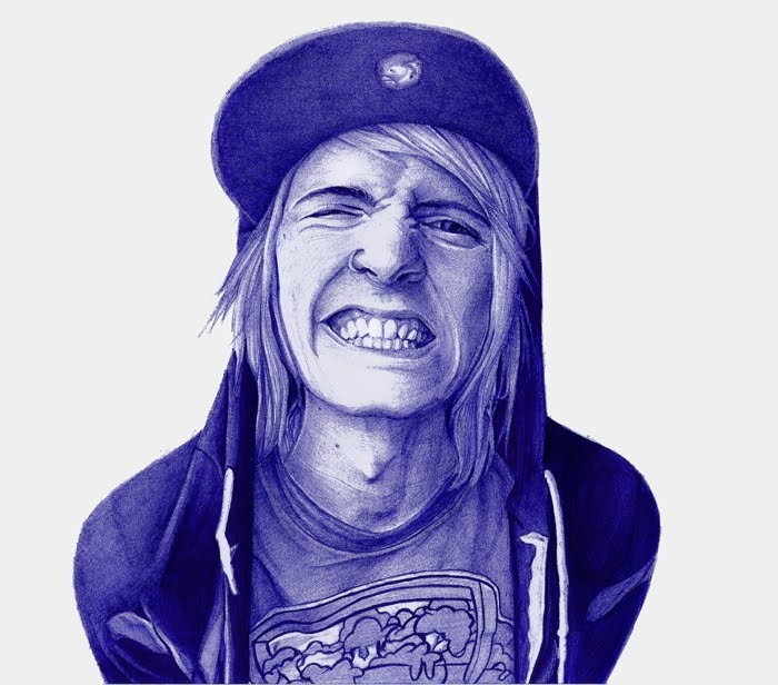 11-Kile-Burns-Urban-Insight-Leonardo-Alves-de-Azevedo-Leo Natsume-Realistic-and-Detailed-Bic-Ballpoint-Pen-Drawings-www-designstack-co