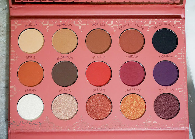 BH Cosmetics x It's My Raye Raye Eyeshadow and Contour Palette | bellanoirbeauty.com