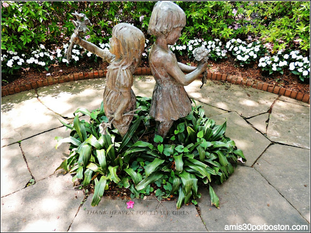 "Dallas Arboretum & Botanical Garden: ""Thank Heaven for Little Girls"""