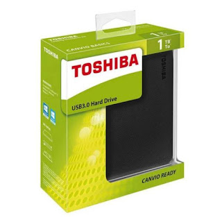 Harddisk eksternal Toshiba Canvio Ready 1TB review