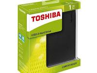 Review Toshiba Canvio Ready 1TB, Harddisk Eksternal Murah Dibawah 1 Juta
