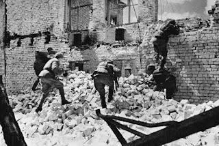 La lucha en las calles de Stalingrado