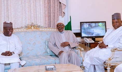 pmb Buhari, Wife Receive Delegate In London News